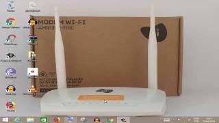 Como configurar Wifi no ZyXEL oi velox modem roteador AMG1302 T15C