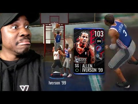 103 OVR IVERSON GLITCHED THE GAME! NBA Live Mobile 19 Season 3 Ep. 81