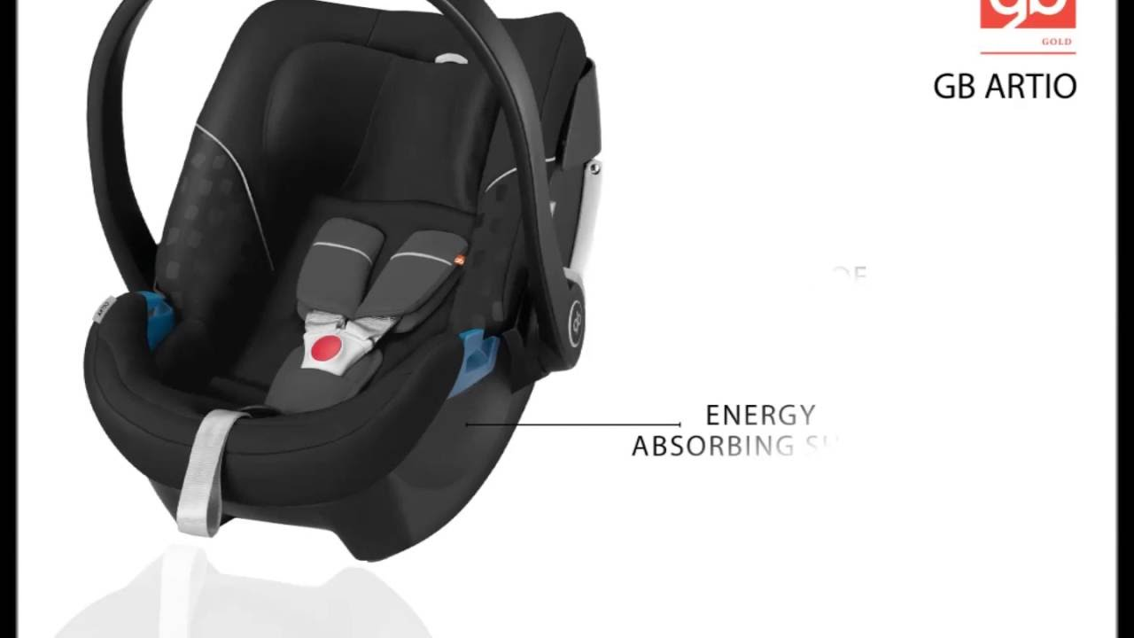 GB ARTIO - Safety and style reimagined (car seat) - YouTube
