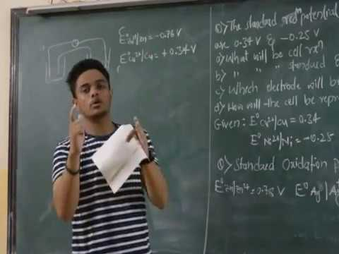 Basic & Standard problems to understand Electrochemistry
