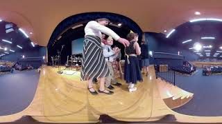 Lisbon Wesleyan Church - Christmas Program @ LCS - 12/16/18 (360º Video)
