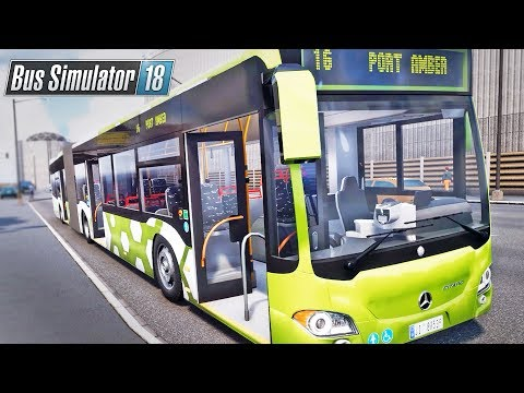 Bus Simulator 18 - (Articulated) Bendy Bus!