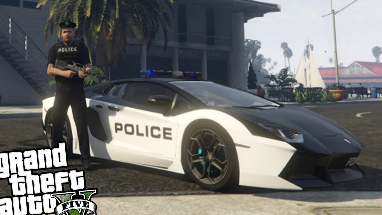 police mod gta 5 pc download