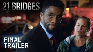 21 Bridges | Final Trailer | Now In Theaters