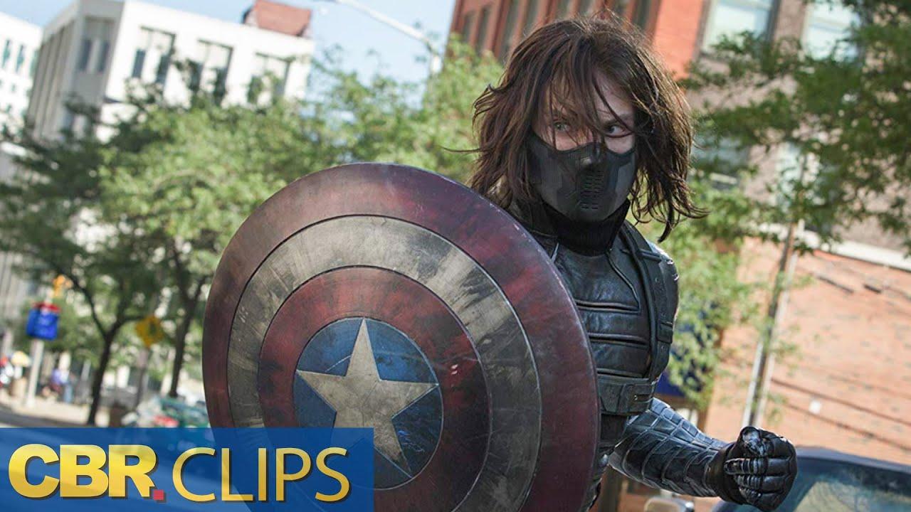Download Winter Soldier vs Captain America Fight Scene | Marvel