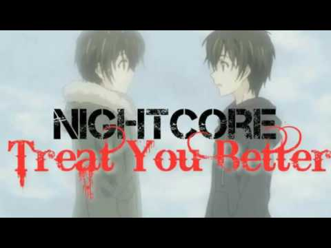 Nightcore - Treat You Better (Cover)