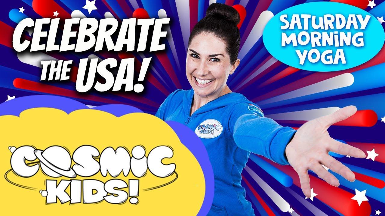 Saturday Morning Yoga   Celebrate the USA!