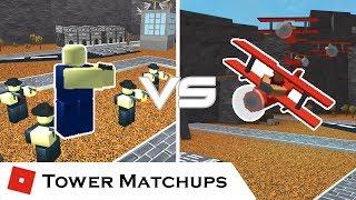 Reconnaissance Encounter | Tower Matchups | Tower Battles [ROBLOX]