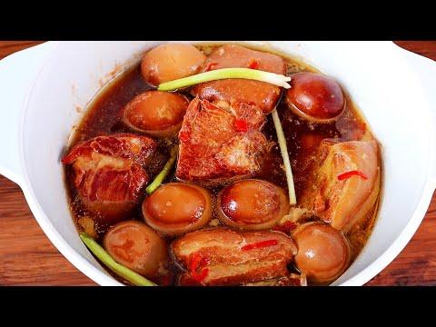 Bí quyết THỊT KHO TÀU với NƯỚC DỪA đậm đà ngon gấp đôi – Món Ăn Ngon