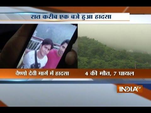 Four Pilgrims Killed in Landslide en route to Vaishno Devi Shrine