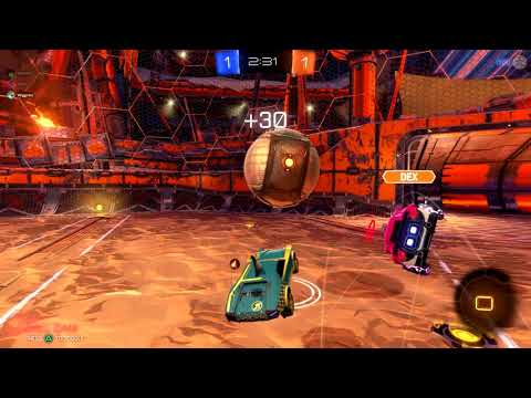 Rocket League - Funny Moment - Wigginns slips out of gear