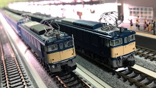 KATO 3058-3 EF62 後期形 下関運転所 (12系臨時列車)
