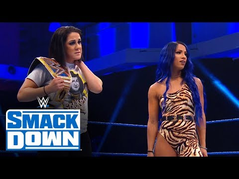 Paige pulls the strings for Bayleys WrestleMania fate: SmackDown, March 20, 2020