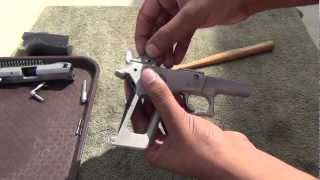S&W 6906 disassembley: Lower Frame