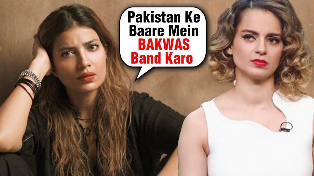 Pakistani Actress INSULTS Kangana Ranaut For HATE Statements On Pakistan