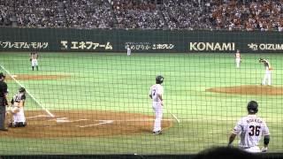 日本シリーズ 増井俊之vs小笠原道大