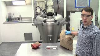 Mixing Dry Powders – Conical Screw
