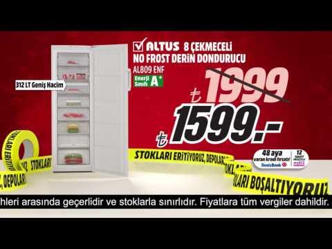 Stokları Eritiyoruz! Altus 8 Çekmeceli No Frost Derin Dondurucu Rakipsiz Fiyatla Media Markt'ta!