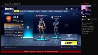 Jaydensplayroom's Live PS4 Broadcast Fortnite Battle Royal