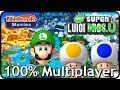 New Super Luigi U - Full Game (All Worlds, 100% 3 Player Walkthrough)