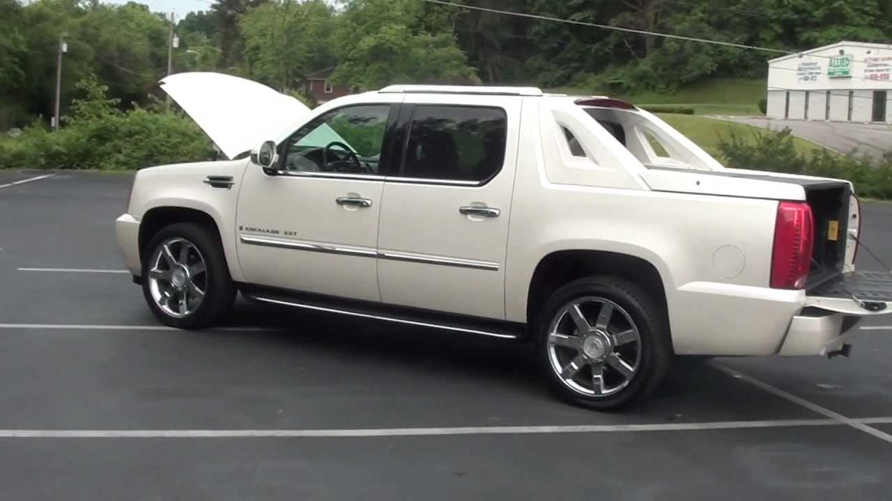 For 2007 Cadillac Escalade Ext 1 Owner Stk 20713a Www Lcford You