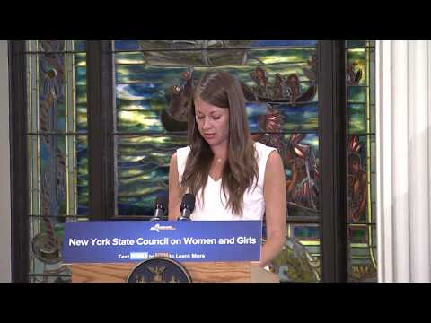 New York State Council on Women and Girls Standing Up for New York's Women