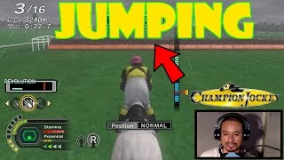 [PS3]Champion Jockey G1 Jockey & Gallop Racer - First jump race