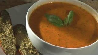 How To Cook  Fresh Tomato And Basil Soup