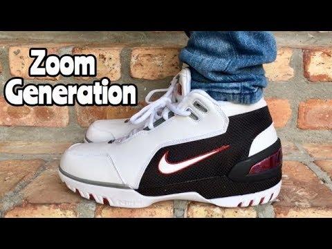 premium selection 41830 f1632 Nike LeBron 1 Zoom Generation