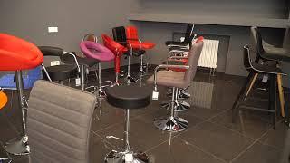 """Секция кресел для кафе и бара - Салон офисных кресел """"KingStyle"""" на 1300 м²"""