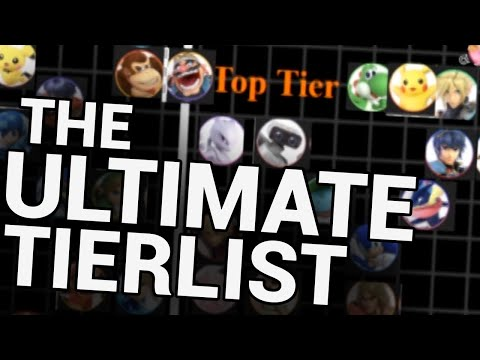 FIRST MONTH TIERLIST - How wrong was I? - Smash Ultimate thumbnail