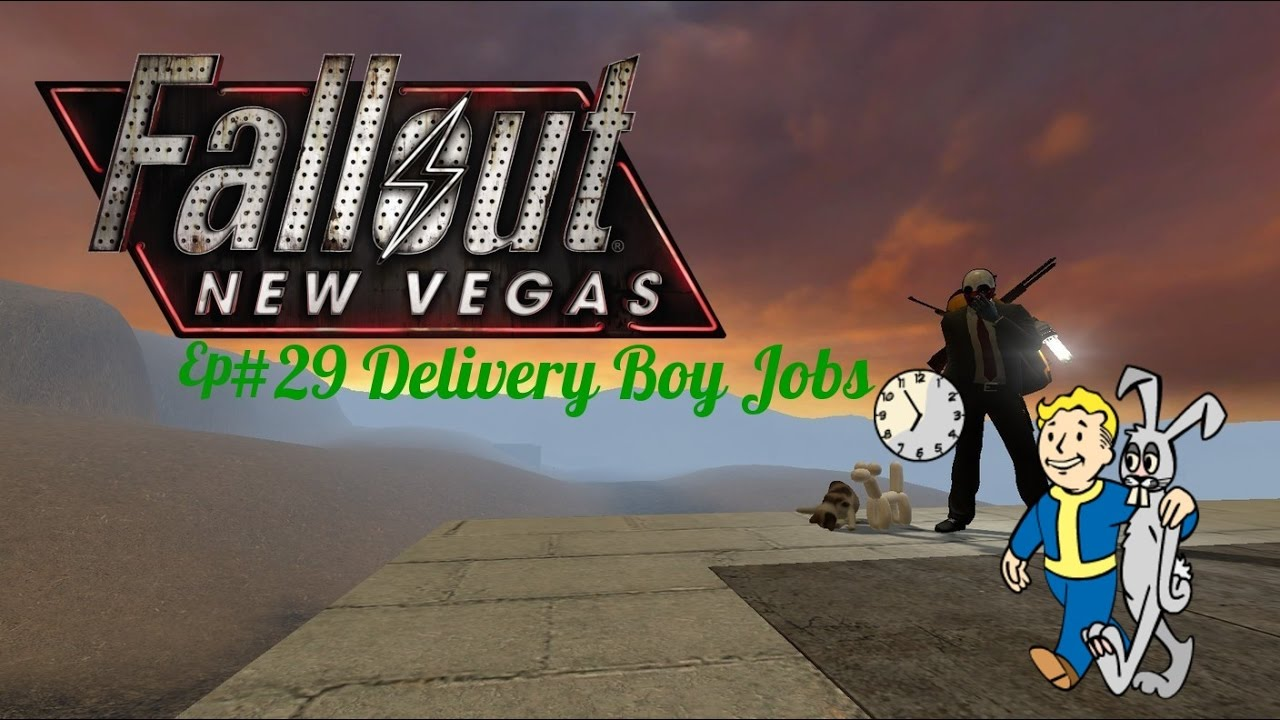 fallout new vegas ep 29 delivery boy jobs youtube. Black Bedroom Furniture Sets. Home Design Ideas