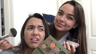 Cover images Nessa Does My Makeup! - Merrell Twins Live
