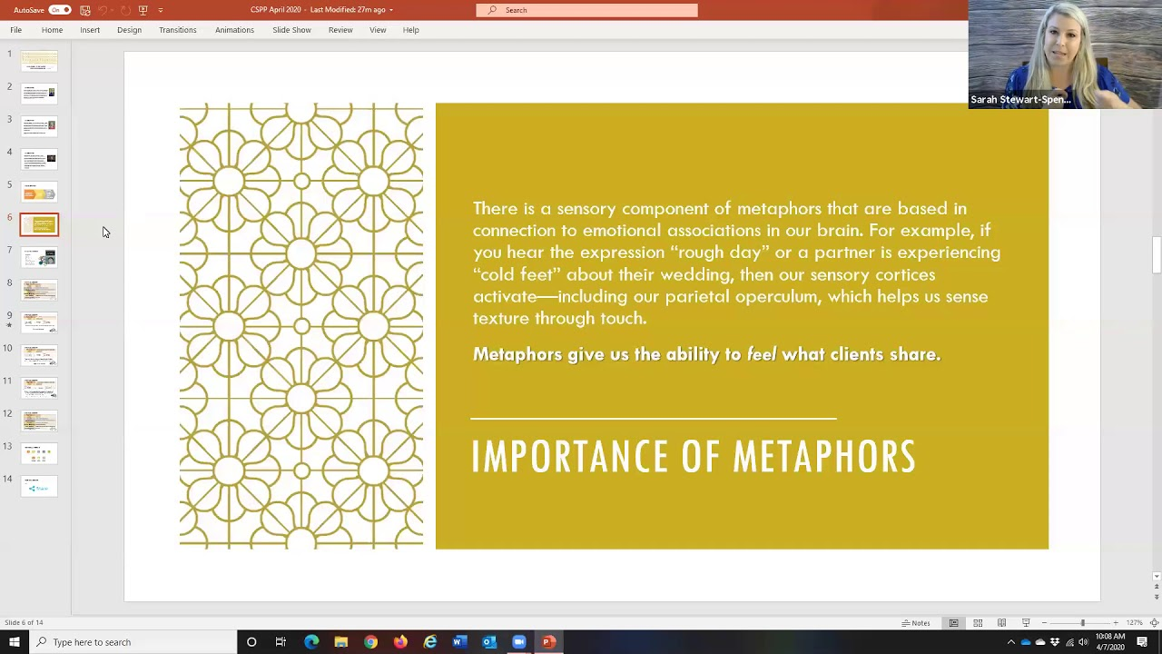 Using Metaphors to Destigmatize Mental Health Counseling ...