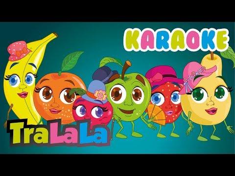 Fructele – KARAOKE | TraLaLa – Cantece pentru copii in limba romana
