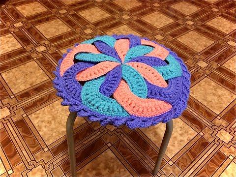 Салфетки на стулья вязание крючком