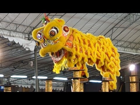 泰國奧吧西龍獅體育會 2013 International Lion Dance Competition 2013