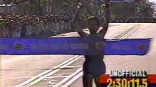 1990 CHICAGO MARATHON Female Winner - Portugal