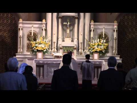 Traditional Latin Mass at Star of the Sea: Feast of St. Michael the Archangel (Sept. 29, 2013)