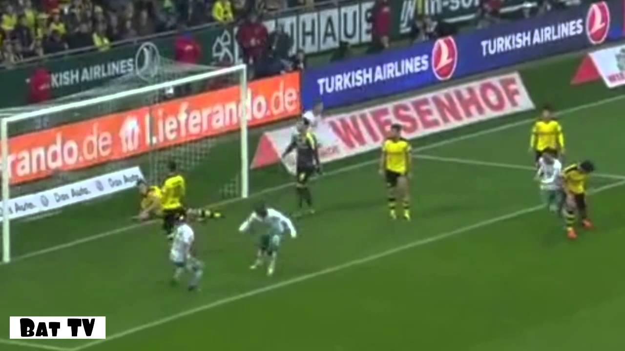 Download SV Werder Bremen vs Borussia Dortmund 1-3 all goals and highlights 31.10.15