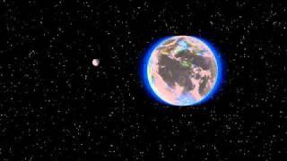 Meteor impact on Moon