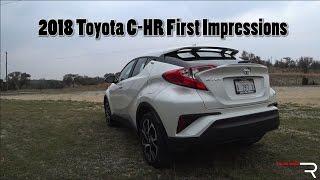 2018 Toyota C-HR – Redline: First Impressions