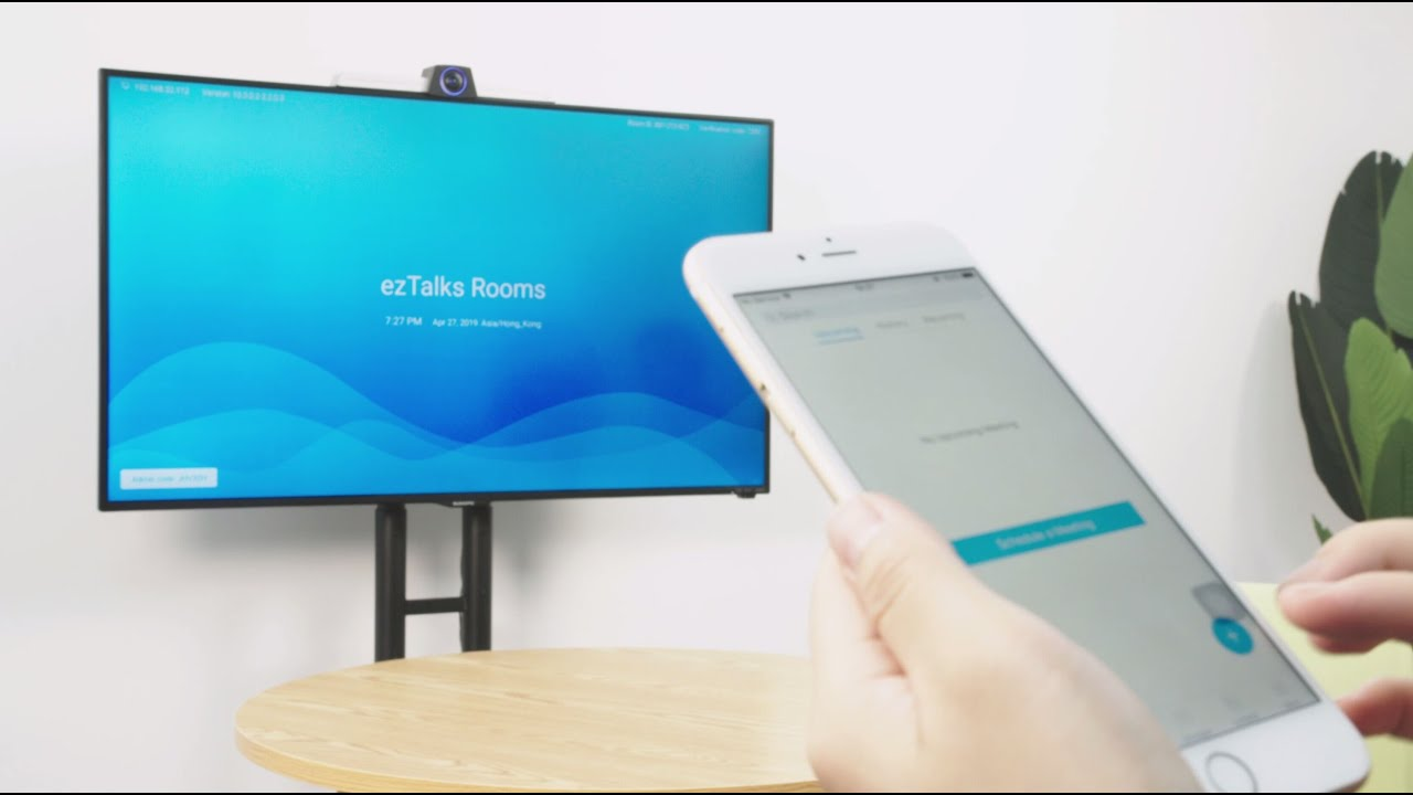 ezTalks Onion: All-in-one Video Conferencing Equipment for