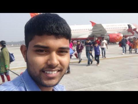 Rajiv gandhi International Airport to Agartala.... Manna Malakar
