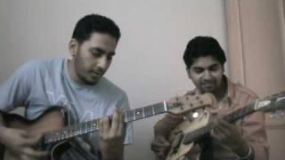 ye mera dil pyaar ka deewana on guitar