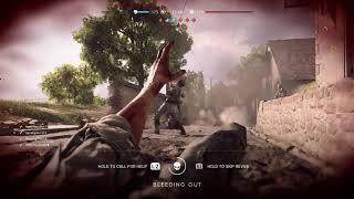 Battlefield V - Conquest on Arras Map (My First Match Cold) Assault Class PS4 Pro Gameplay (2018)