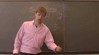 Ionization Energy and Atomic Radius