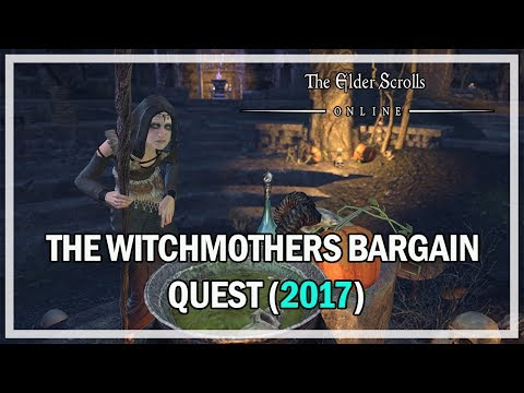Witchmother's Bargain Event Quest 2017 Guide - The Elder Scrolls Online Gameplay