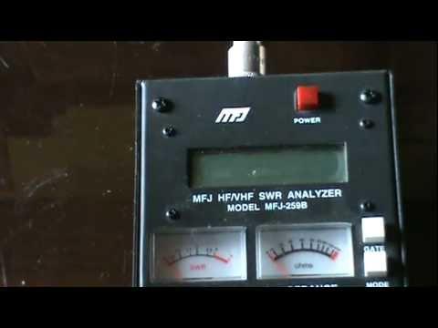 Ham Radio MFJ-259B Antenna Analyzer Repair