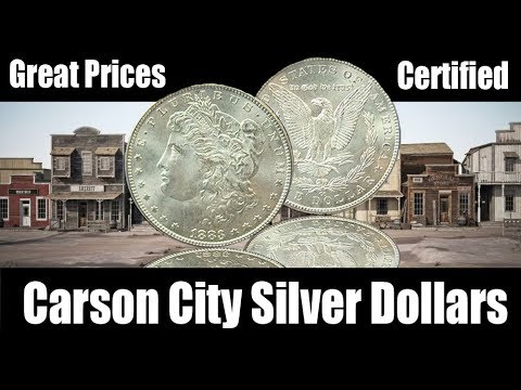 Great Prices On Carson City Morgan Silver Dollars